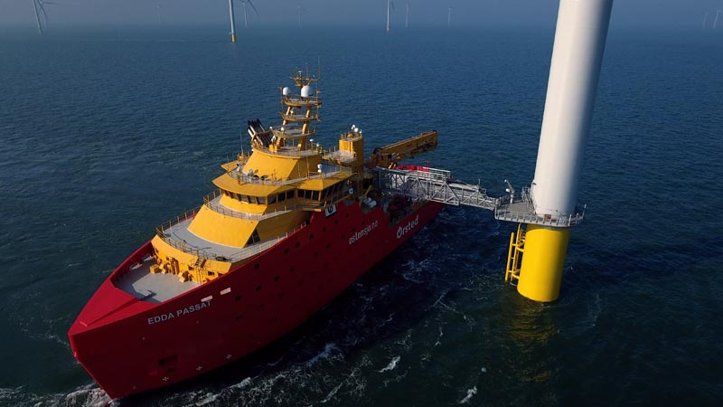 Image of Race Bank Offshore Wind Farm