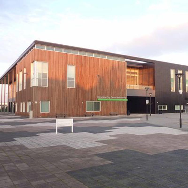 Image of Christ the King Centre for Learning, Knowsley, England.