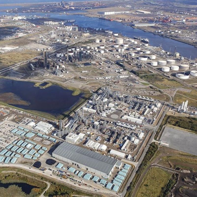 Image of Teesside Biomass, Middlesborough, England.