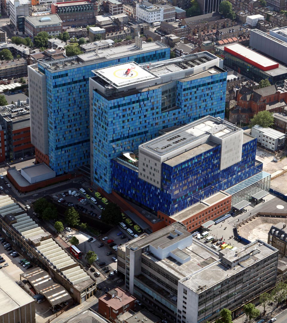 The Royal London Hospital, London, England.