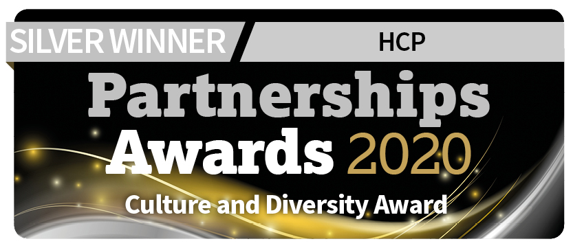Culture and diversity partnership awards 2020 silver winner