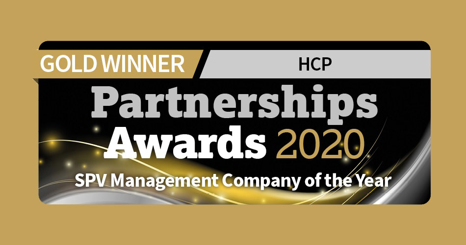 SPV management company of the year 2020 award graphic