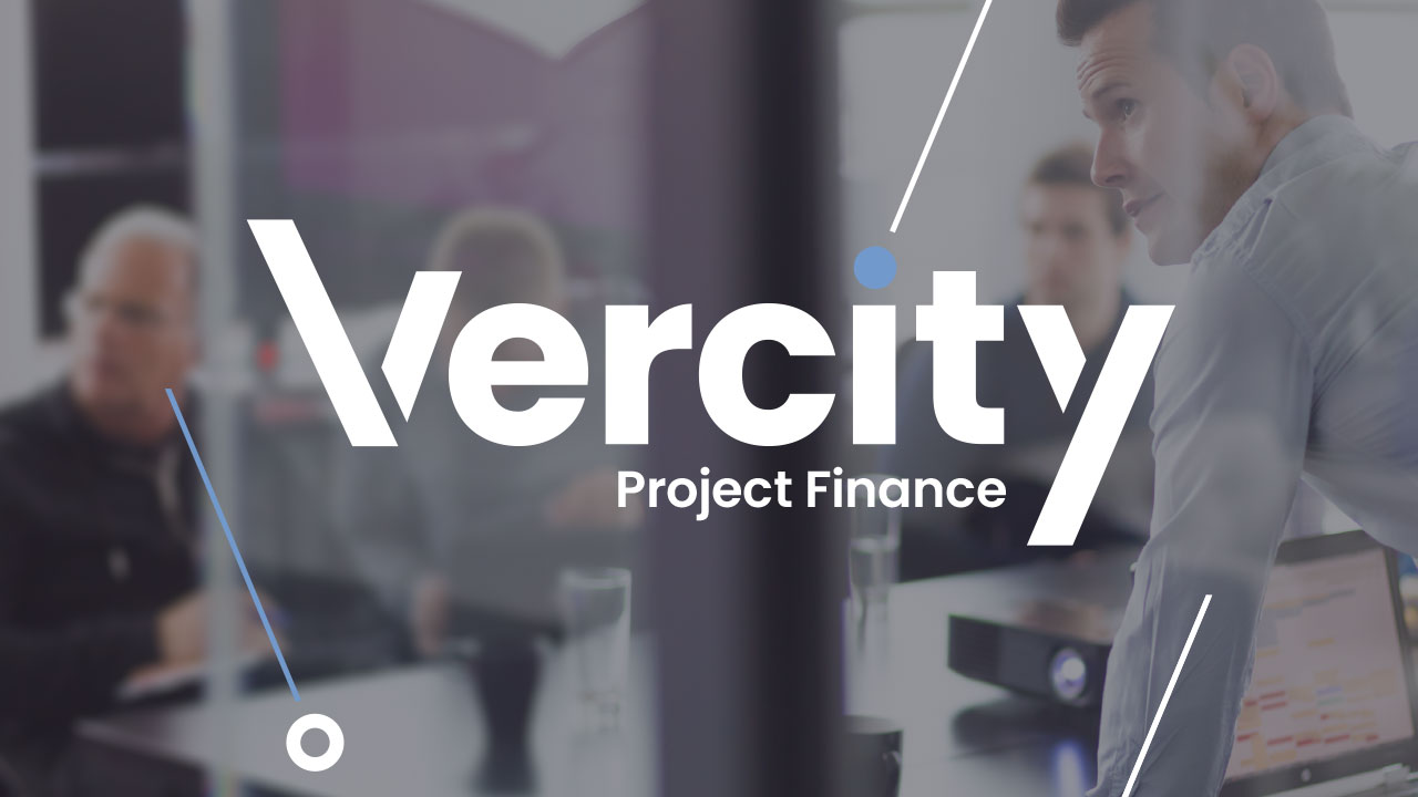 Vercity sectors project finance header graphic