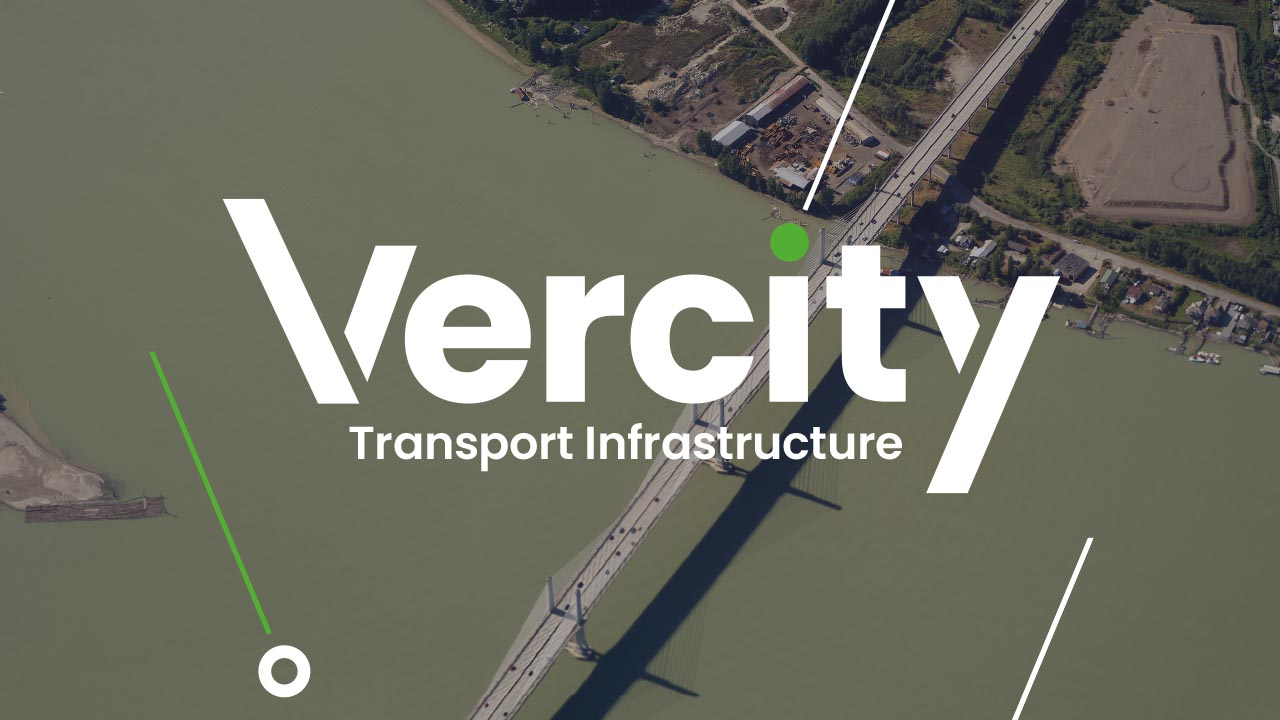 Vercity sectors transport infrastructure header graphic