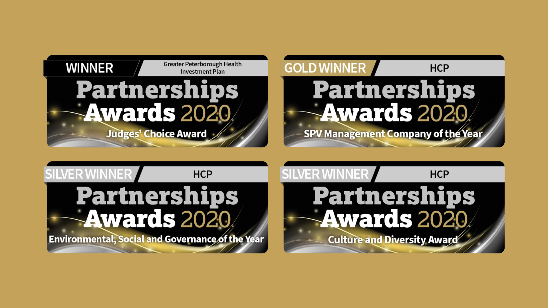 Vercity partnership awards graphic