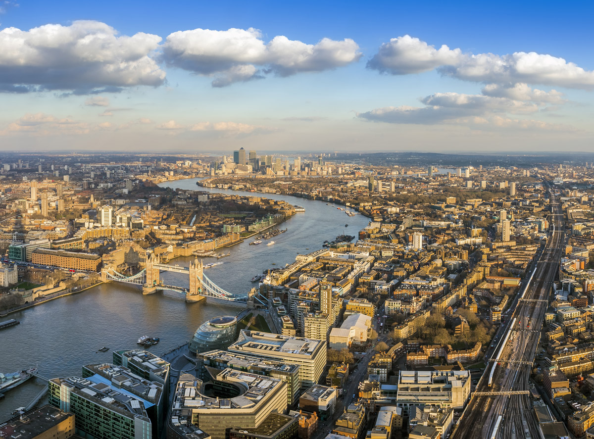 Image of Tower Bridge and Central London